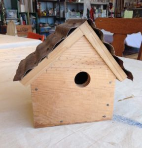 Build a Bird House Workshop (Age 10+), 3:45-5:45pm @ Sweet Mabel Studio