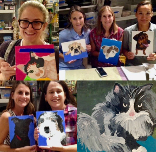 Paint Your Pet's Portrait Workshop BYOB 7-9 pm, $35 @ Sweet Mabel Studio | Narberth | Pennsylvania | United States