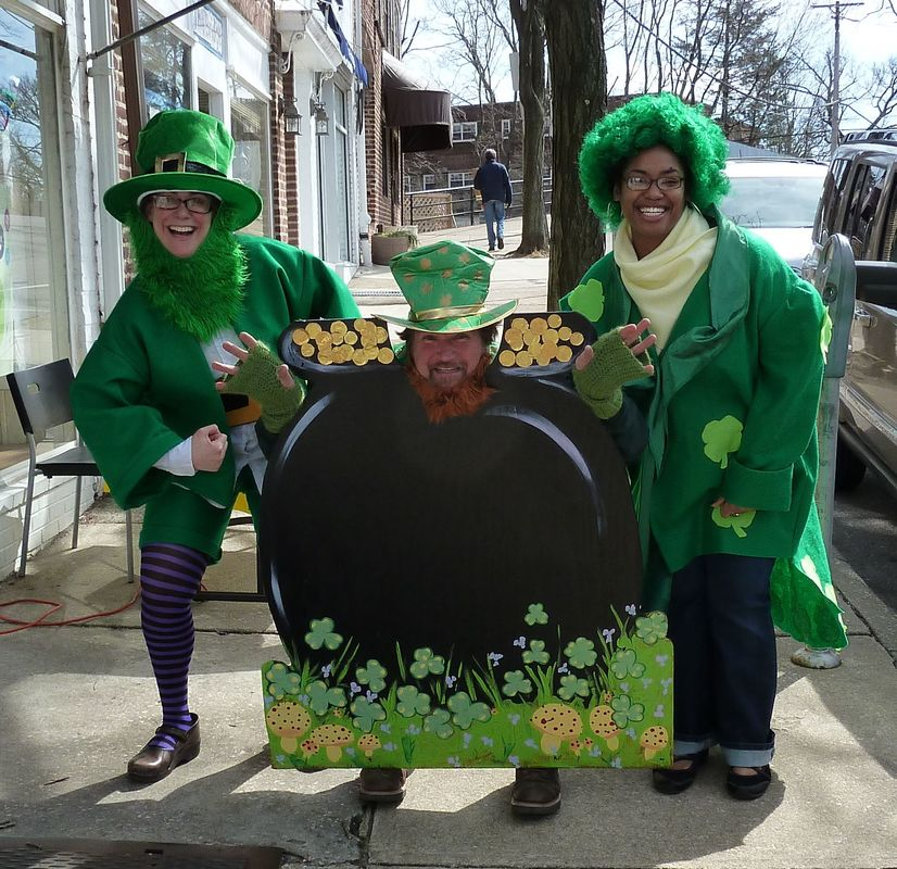 Great Narberth Leprechaun Hunt @ Downtown Narberth PA